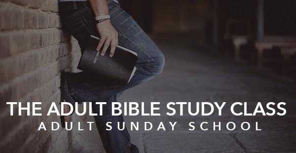 Adult Bible Study Class