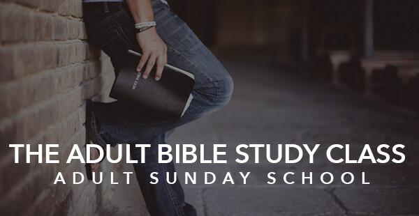 Adult Bible Study Class