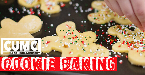Middle School Youth Cookie Baking