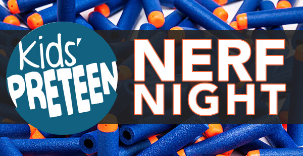 Preteen Nerf Night